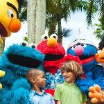 Sesame Street Characters at Beaches Boscobel Resort & Golf Club