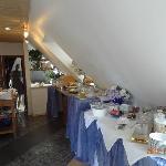 breakfast room attic area