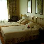 Dos camas separadas individuales, nada de 1.50 :(