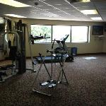 not impressive exercise room