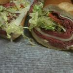 """Tuesdays and Thursdays $5.00 12"""" Roast Beef n Provolone!! How can you beat that???"""