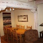 3 bedroom condo dining area