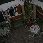 View of Courtyard from room