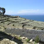 Views atop Isla del Sol