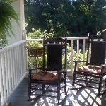 Charleston Suite's private porch