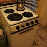 la cucina funziona...però è dell'ante guerra