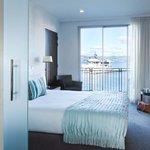 Premium Water View Guestroom at Trinity Wharf Tauranga