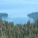Hiking above Emerald Bay