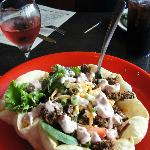 Taco salad - yum...