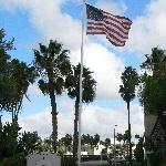 Days Hotel flying the flag