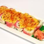 The favorite: Crunchy Spicy Tuna Roll. A MUST.