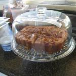ペンネさんのお手製ケーキ