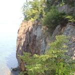 Located on cliffs 80 feet above Frenchman's Bay