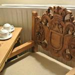 Coca tea set at the room