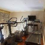 College Suite Exercise Room
