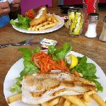 $10 fish n chips in beautiful Port Douglas