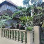 le bungalow à gauche
