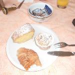 Colazione buonissima .... la Caprese l'avevo già finita!!!