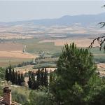 Landschaft um Pienza