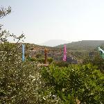 Aussicht vom Flur-Balkon