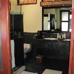 2 basins, huge shower plus a huge bath!