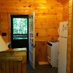 inside of our cabin--not all are redone yet