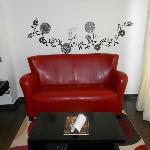 Sofa in room 9