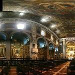 Interior of Sao Roque