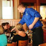 Professional  & personable waitstaff make all the difference