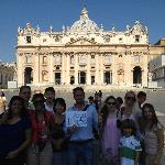 Vatican Tour with a great family!