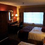2Q suite in bed area