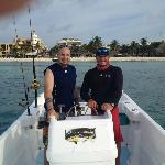 Un día de pesca con el Capt. Wearever (Mi hermano)