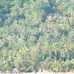 Lage oberhalb des nördlichen Sairee Beach