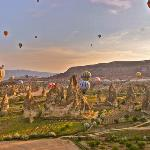 Cappadocia, hote air balloon ride
