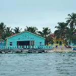 Restaurant/deck/cabanas