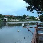 The river Kwai from the dining terrace