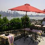 A view of NYC from their Terrace