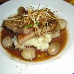 Calf liver with onions & mash