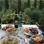 Tortolonni da Pode, Chicken, Mixed Salad, Patate al Forno....Awesome Meal!