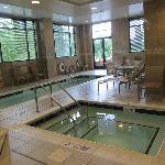 Inside pool...clean looking area