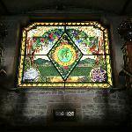 El vitral de las escaleras