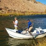 Drift Boat Fly Fishing Gunnison Gorge RIGS Adventure Co. Ridgway Colorado
