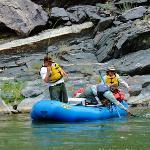 Gunnison Gorge Float Fishing RIGS Adventure Co. Ridgway Colorado