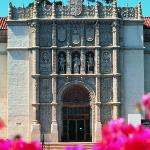 The San Diego Museum of Art historic facade.