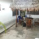 Golondrinas (Iquitos) entry courtyard