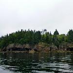 Views of the island before the rain.