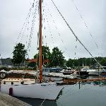 Nice sailing boat.