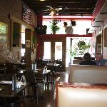 Inside dining area of Little Sheba's
