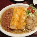Chicken Enchiladas w/ Green Sauce