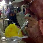 pineapple, mango, passion fruit